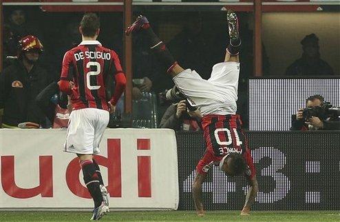 Милан вернулся на третье место