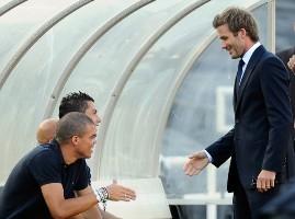 Бекхэм: Олд Траффорд поможет Роналду