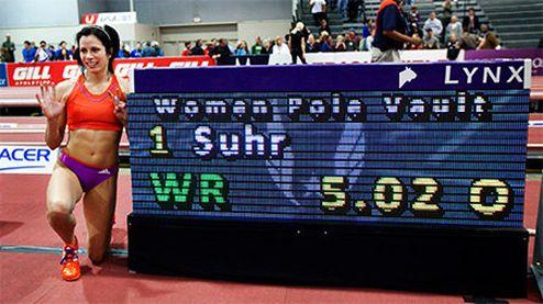 Легкая атлетика. Американка побила рекорд Исинбаевой