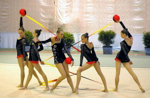 Художественная гимнастика. Украинки — с двумя медалями Гран-при Москва 2013