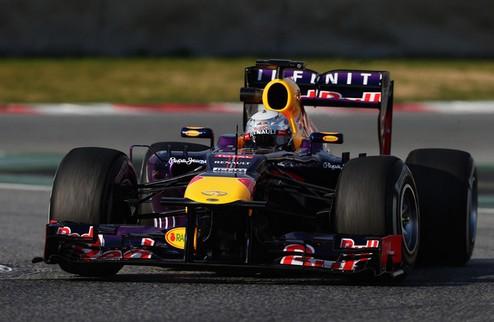 Формула-1. Феттель недоволен итогами тестов