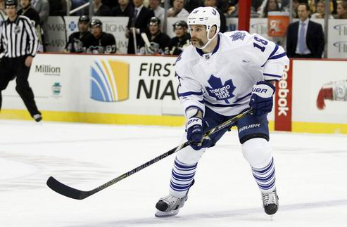 НХЛ. Тафгай Торонто отправлен в Эдмонтон