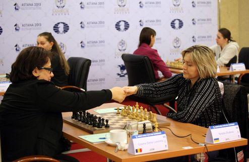 Шахматы. ЧМ-2013. Украинки играют вничью с румынками