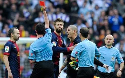 Вальдес дисквалифицирован на четыре матча