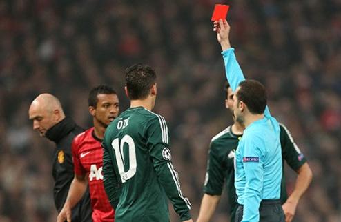 """Чакыр: """"Красная карточка Нани была справедливой"""""""