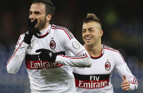 Милан остается третьим