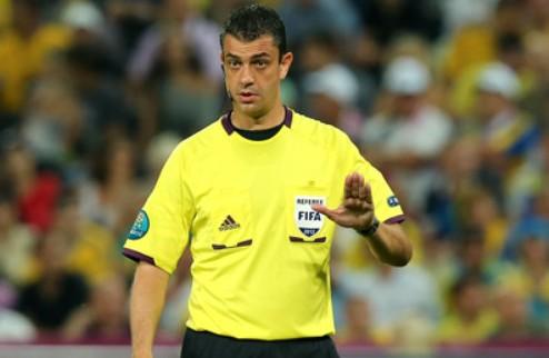 Кашшаи обслужит матч Барселона — Милан