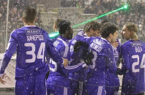 Динамо добыло первую победу в новом году