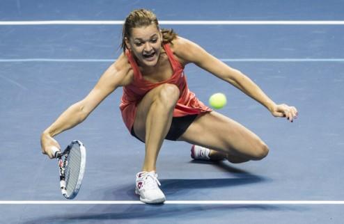 Индиан-Уэллс (WTA). Победы Шараповой и Радваньской, вылет Винчи