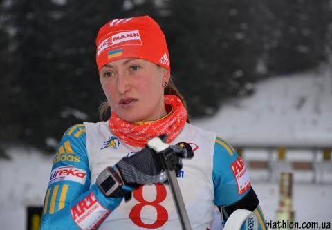 Биатлон. Потапенко и Абрамова выиграли масс-старт на ЧУ