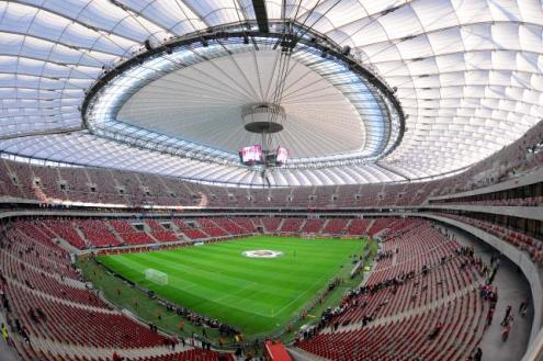 Национальный стадион в Варшаве: нет сборной Польши