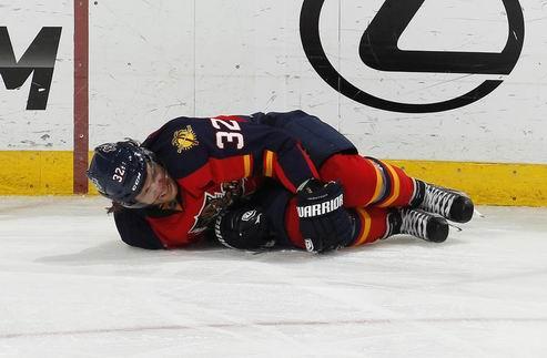 НХЛ. Флорида: Верстиг выбыл до конца сезона