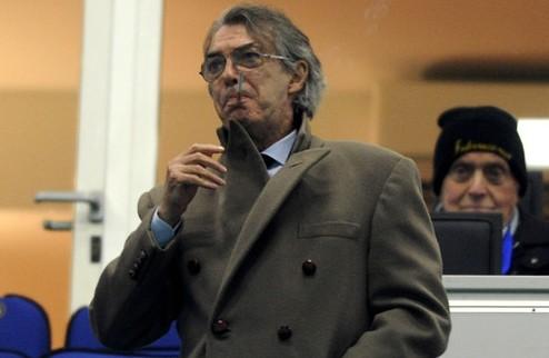Моратти гордится футболистами Интера