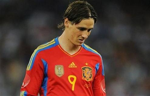 Торрес и Хави Мартинес — мимо сборной Испании