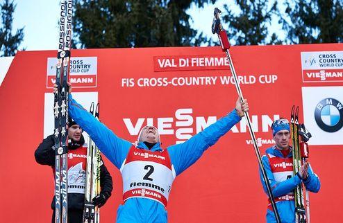 Лыжные гонки. Легков выиграл марафон в Холменколлене