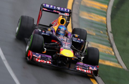 Формула-1. Гран-при Австралии. Поул Феттеля, Масса опережает Алонсо