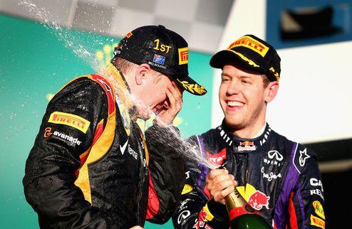 Формула-1. Райкконен открывает сезон победой!