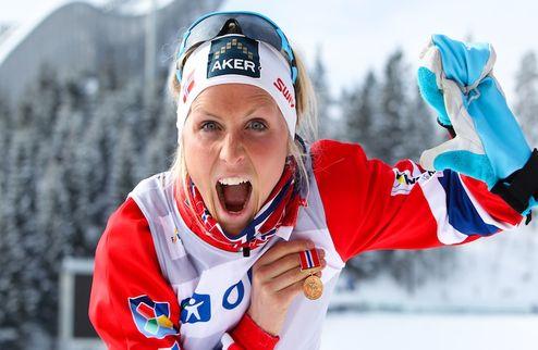 Лыжные гонки. Победа Йохауг в Холменколлене
