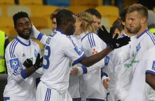 Минимальная победа Динамо над Ворсклой