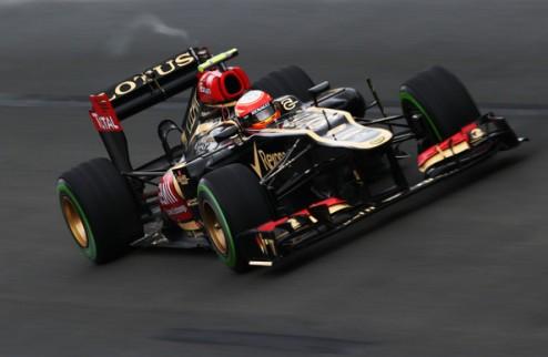 Формула-1. Грожан жалуется на проблемы с болидом