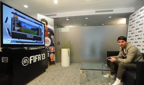 Месси доступен для всех геймеров в FIFA 13