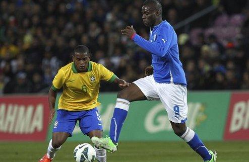 Зрелищная ничья Италии и Бразилии