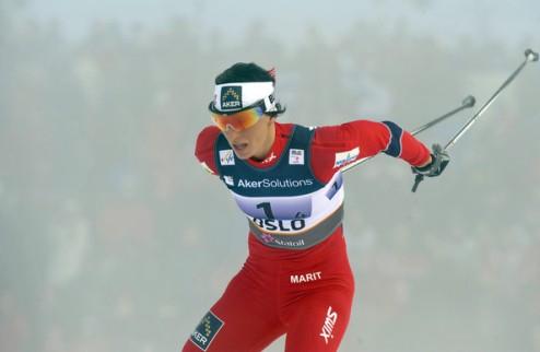 Лыжные гонки. Бьорген победила в масс-старте