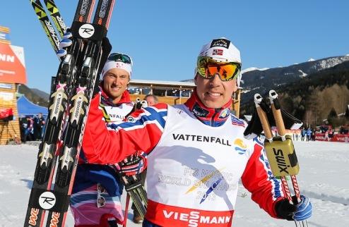 Лыжные гонки. Реннинг выиграл масс-старт в Фалуне