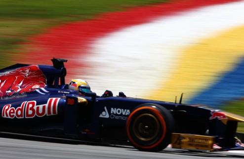 Формула-1. Торо Россо оштрафовали за аварию Верня и Пика