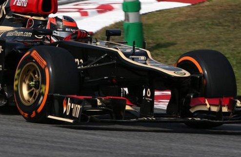Формула-1. В Лотус не рассчитывали на победу в Малайзии