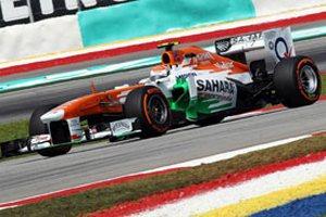 Формула-1. Форс Индия продлила контракт на поставку моторов с Мерседес