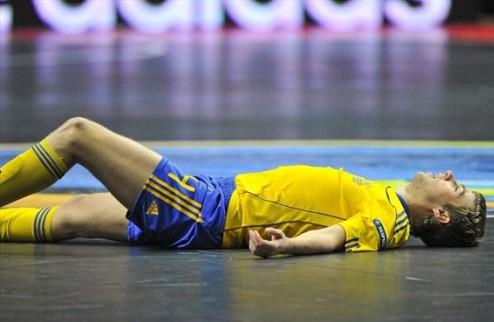 Футзал. Украина позорно разгромлена Словенией