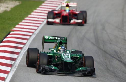 Формула-1. Пик не сожалеет о переходе в Катерхэм