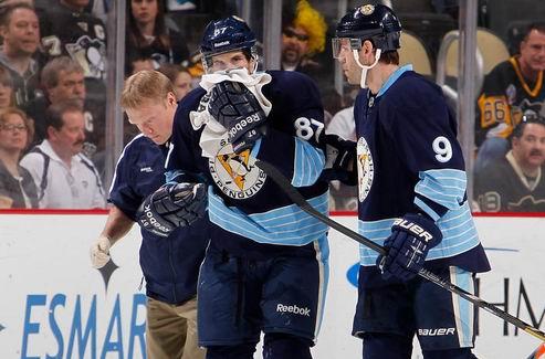 НХЛ. Кросби выбыл на неопределенный срок