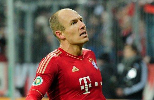 Роббен: Бавария нацелена на финал Лиги чемпионов