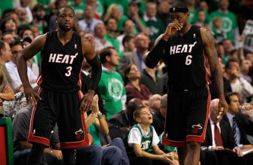 НБА. Майами: Джеймс и Уэйд продолжают отдыхать