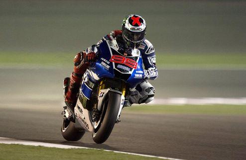 MotoGP. Гран-при Катара. Лоренсо выигрывает первую практику