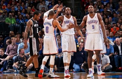 НБА. Волевые победы Денвера и Чикаго, поражение Шпор в Оклахоме