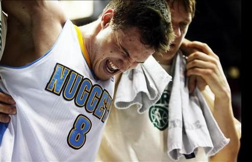 НБА. Галлинари вылетел до конца сезона
