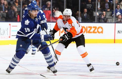 НХЛ. Торонто не подтверждает сотрясение у Лупула