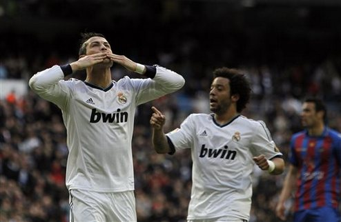 Реал разгромил Леванте