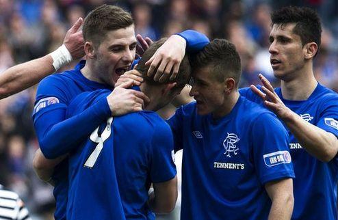 Рейнджерс выиграл третий шотландский дивизион