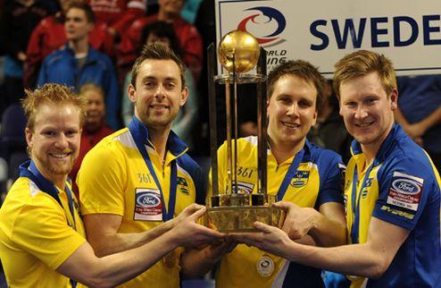 Керлинг. Швеция выиграла чемпионат мира