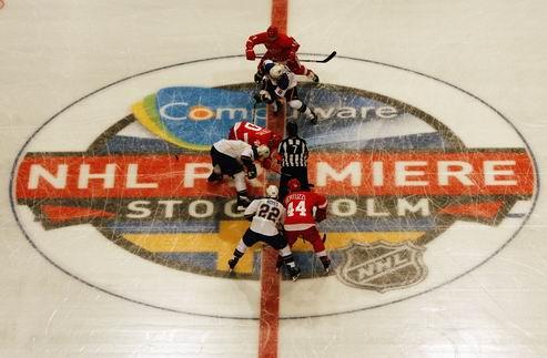 НХЛ. В планах пока нет матчей-открытия в Европе