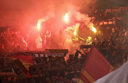 Рим в огне. Фото+Видео