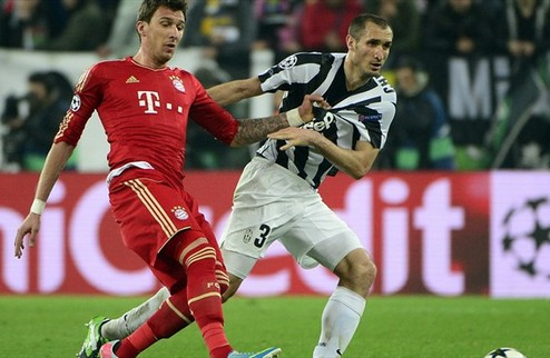 Бавария снова не оставила шансов Ювентусу
