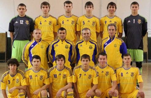 Футзал. Молодежная сборная огласила состав на спарринги с Францией