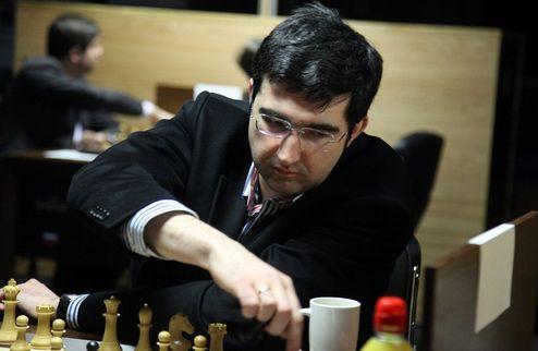 Шахматы. Во время турнира претендентов Крамнику помогал украинец