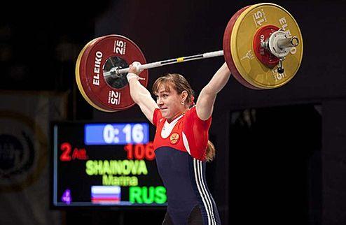 Тяжелая атлетика. Шаинова — пятикратная чемпионка Европы