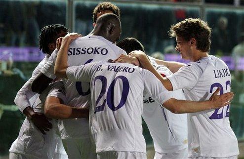 Фиорентина продолжает давление на Милан